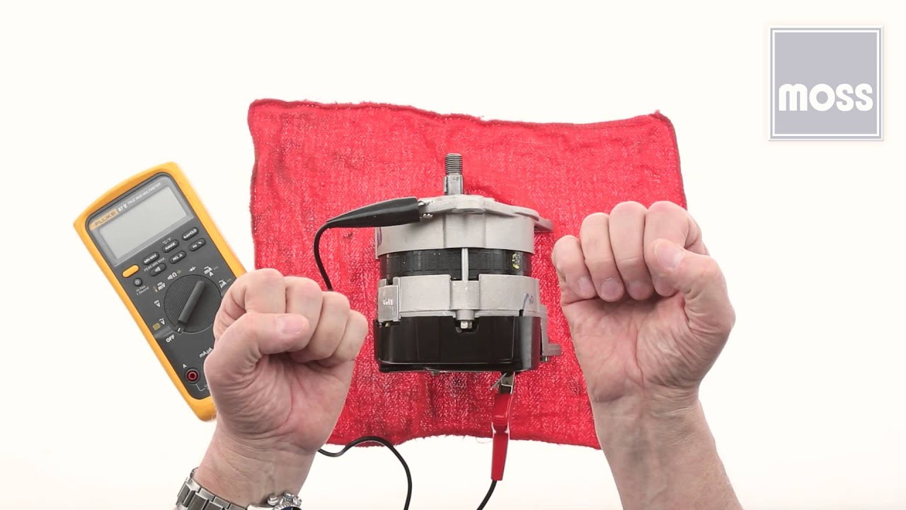 hight resolution of alternator how to test using a voltmeter