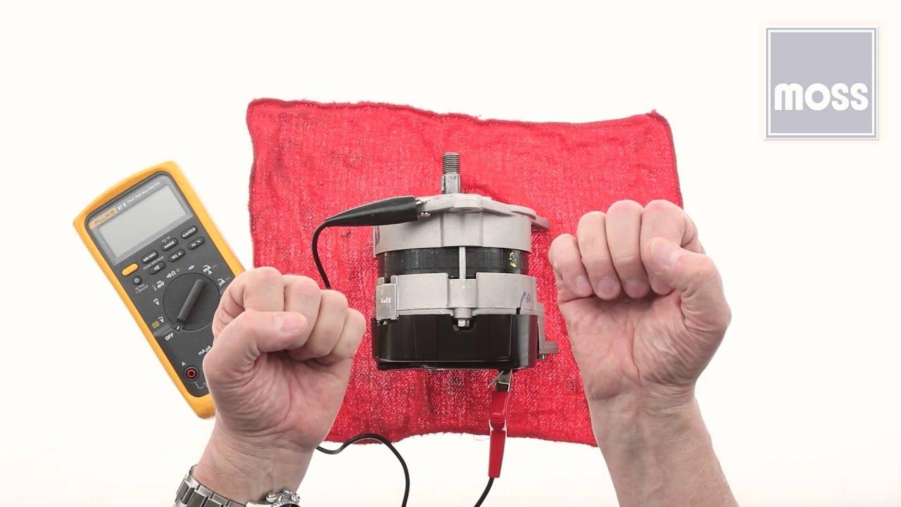 alternator how to test using a voltmeter [ 1280 x 720 Pixel ]