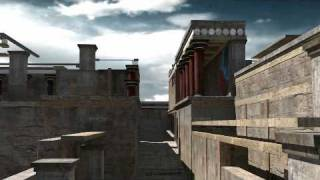 Knossos Palace Reconstruction Crete 3D