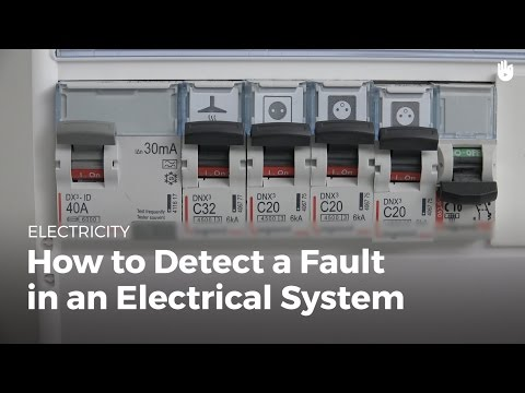 How to Detect a Fault in an Electrical System | Electricity