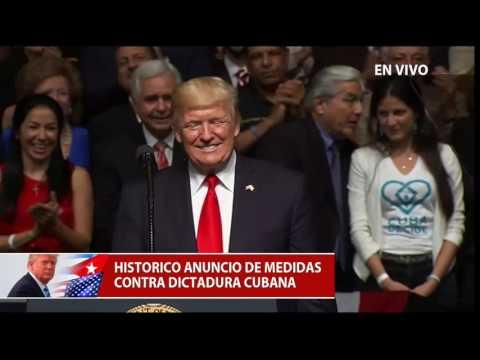 Discurso completo del  Presidente Donald Trump sobre cambio de política hacia Cuba
