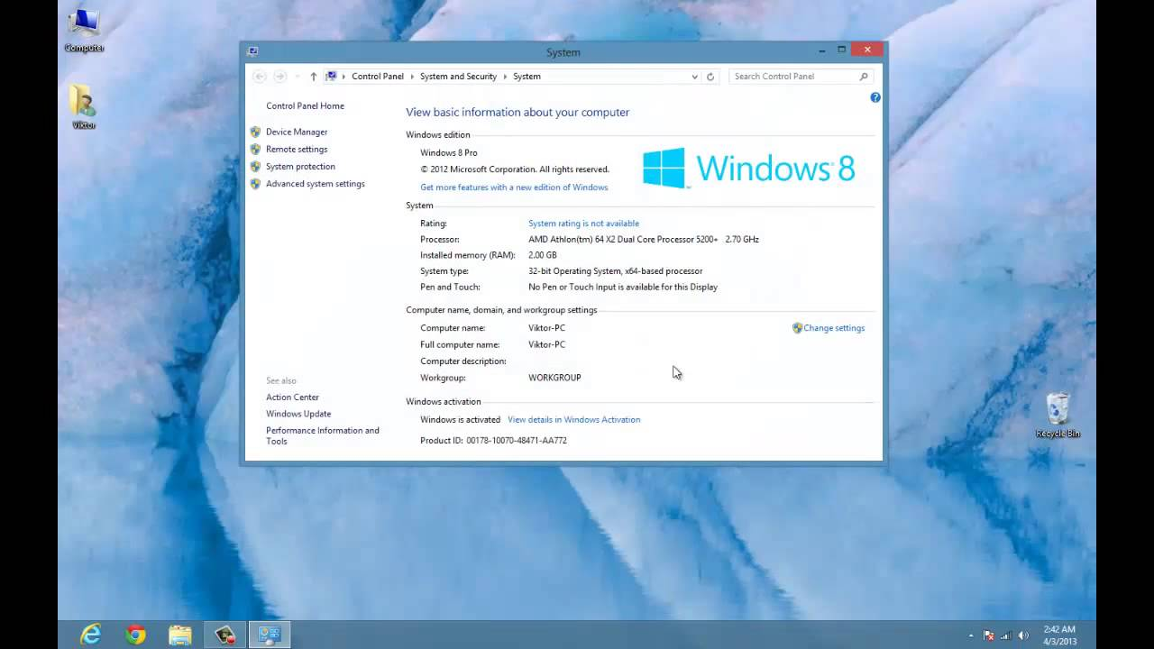 How To Activate Windows   Pro Build  Youtube