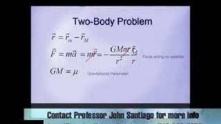 Satellite Orbital Mechanics - Specific Mechanical Energy