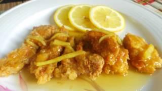 AYAM SOS LEMON MADU Bahan-bahan - dada ayam 500g (potong ikut suka) - tepung serbaguna (secukupnya) - telur sebiji (kacau) - madu 4 sudu besar ...
