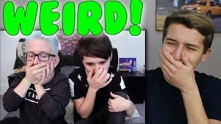 Tyler and Dan Watching Strange Porn Reaction   Tyler Oakley & danisnotonfire