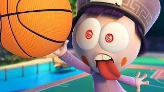 Spookiz | Crazy Basketball | Zombie Cartoon | 스푸키즈 | Funny Cartoon | Kids Cartoons | Videos for Kids