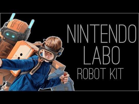 『RSS』Nintendo Labo Robot Kit