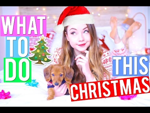What to do when you're BORED during CHRISTMAS | Meredith Foster