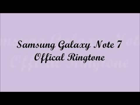 Official Samsung Galaxy Note 7 ringtones for phone