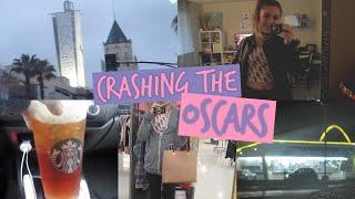 Trying to Crash the Oscars?!! Shopping & McDonalds!