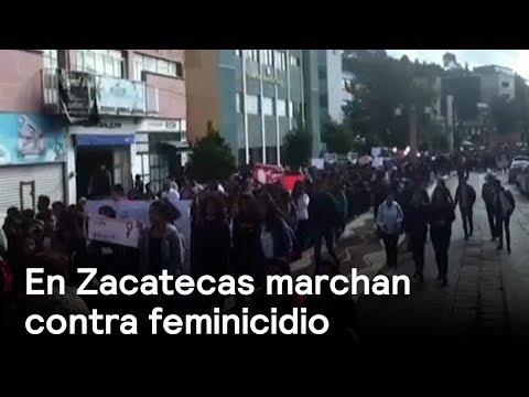Feminicidio indigna a Zacatecas - En Punto con Denise Maerker