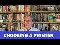 Choosing a Journal or Book Printer