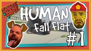 Human Fall Flat Multiplayer (Xbox One) - Fireman Fat Ass