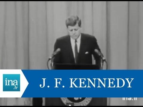 Conférence de presse de John Fitzgerald Kennedy sur Berlin en 1961 - Archive INA