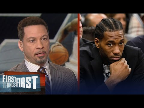 Chris Broussard on reports Kawhi is targeting a March return for the Spurs | FIRST THINGS FIRST