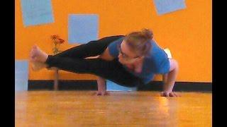 How To: Eight Angle Pose (Astavakrasana)