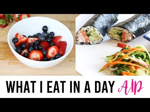 What I Eat In A Day AIP