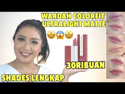 terbaru-wardah-colorfit-ultralight-matte-lipstick-(review-+-lipswatches-di-kulit-sawo-matang)