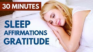 Love Gratitude Affirmations While You Sleep | Count Your Blessings at Bedtime