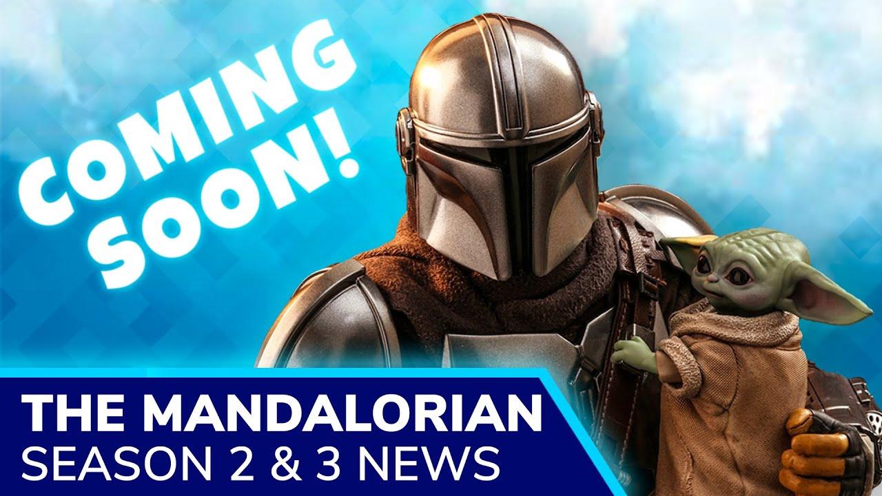THE MANDALORIAN Season 2 Release -- October 2020 on Disney Plus | Season 3 already in production
