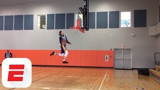 Lonzo Ball and Kyle Kuzma have dunk-off at Lakers practice   ESPN