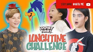 Try Not To Laugh Challenge | Looney Tunes Lunchtime Challenge | WB Kids