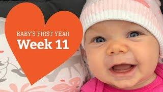 11 Week Old Baby - Your Baby's Development, Week by Week