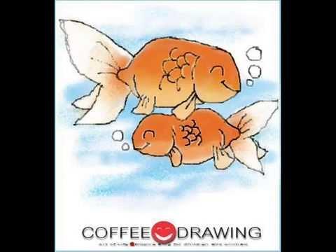 how to draw a cartoon goldfish