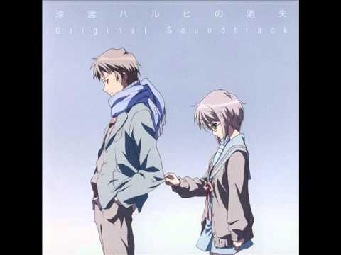 The Disappearance of Haruhi Suzumiya OST - Kankyou Henka no Zehi