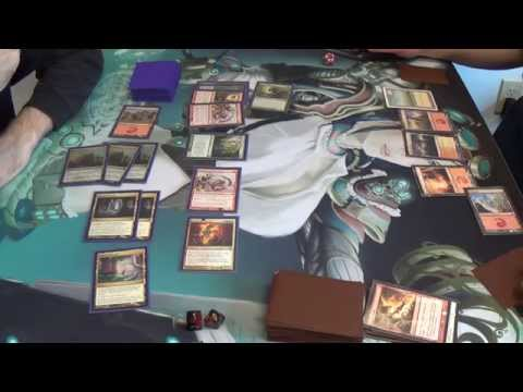 Modern Magic — 5C Elementals vs. Boros Burn