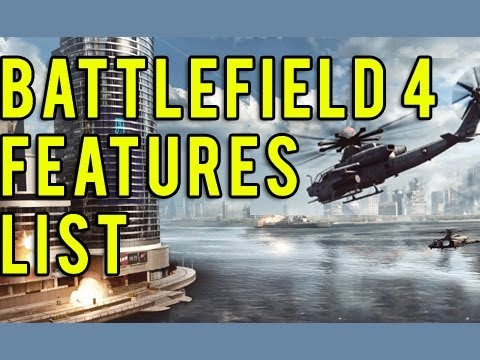 Battlefield 4 : Features list (Battlefield 3 Commentary) E3M13