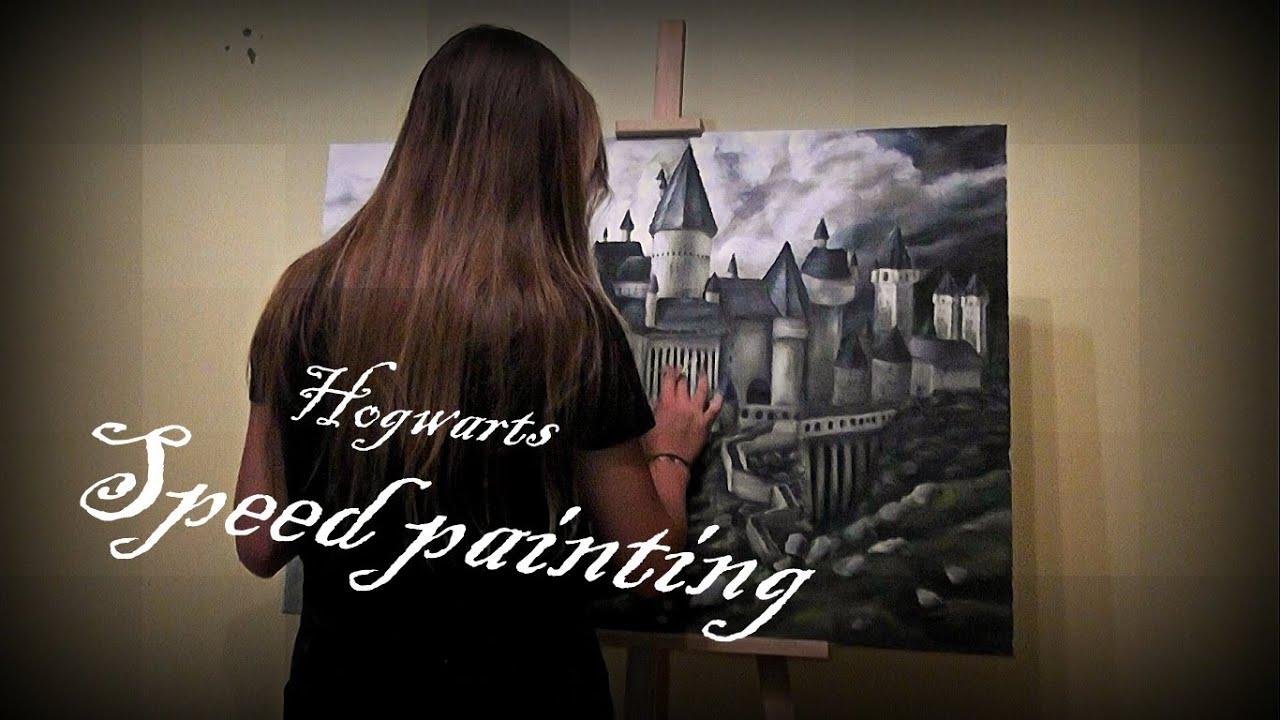 Harry Potter speed painting Ztuba.pl