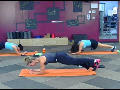 Let's Get Fit  with Sandy Morvillo: Abdominal Workout