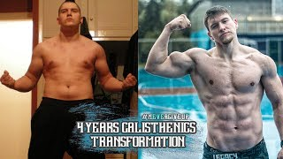 Insane Calisthenics Body Transformation (From Zero To Champion)