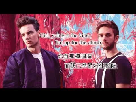中英文字幕 Zedd, Liam Payne  Get Low
