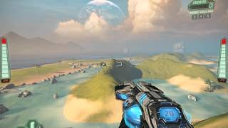 Tribes: Ascend - Crossfire, Diamond Sword back-to-front flag capture route
