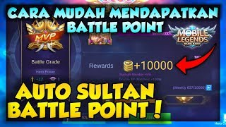 CARA MENDAPATKAN BATTLE POINT DI MOBILE LEGENDS