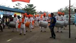 Dhol Procession(Nashik Dhol) ODYSSEY-15 ,Jain Engineering College Belgaum