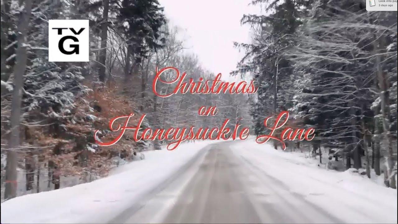 Angela Predhomme - Hallmark Christmas on Honeysuckle Lane - opening song - YouTube