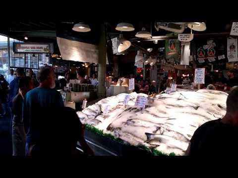 Public farmers market Seattle