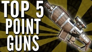 "Top 5 ""point Building Weapons""/""point Guns"" In Cod ""waw Zombies"", ""bo Zombies"" & ""bo2 Zombies""!"