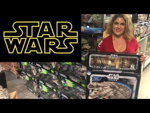Storage Wars Auction We just SCORED a Star Wars Collection for $4300