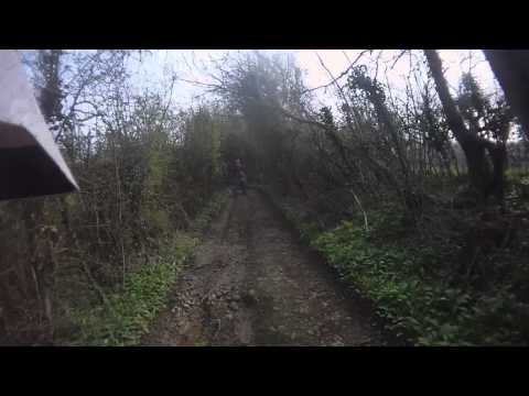 ktm 300 exc green laning around bristol bath area vid 3