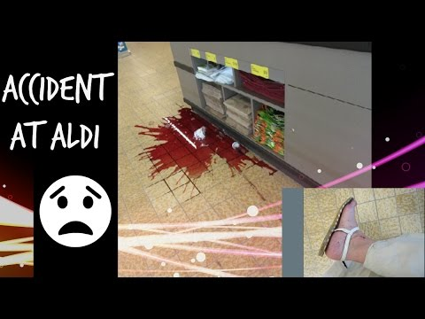 Accident at Aldi! (May 15, 2017 Vlog)