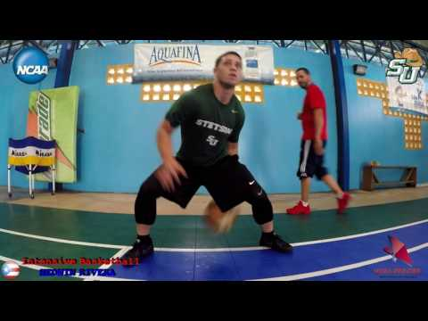 NCAA D-1 - Angel Bball Comby Rivera Stetson University Point Guard - Tuff Workout