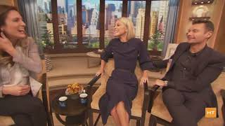 Live interview with Kelly Ripa and Ryan Seacrest