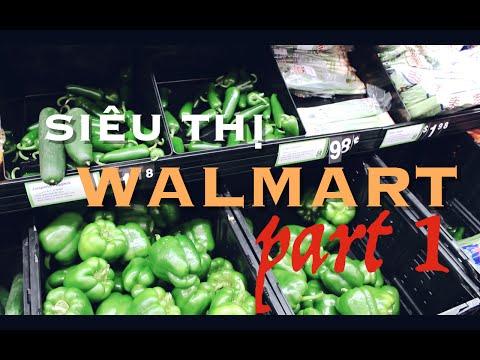 Những cửa hàng ở Mỹ - WALMART, Siêu thị bán bán lẻ nổi tiếng của Mỹ ⓵