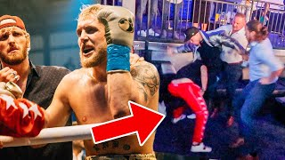 CORRUPT SECURITY GUARDS ABUSE THEIR POWER! (JAKE PAUL VS ANESONGIB)