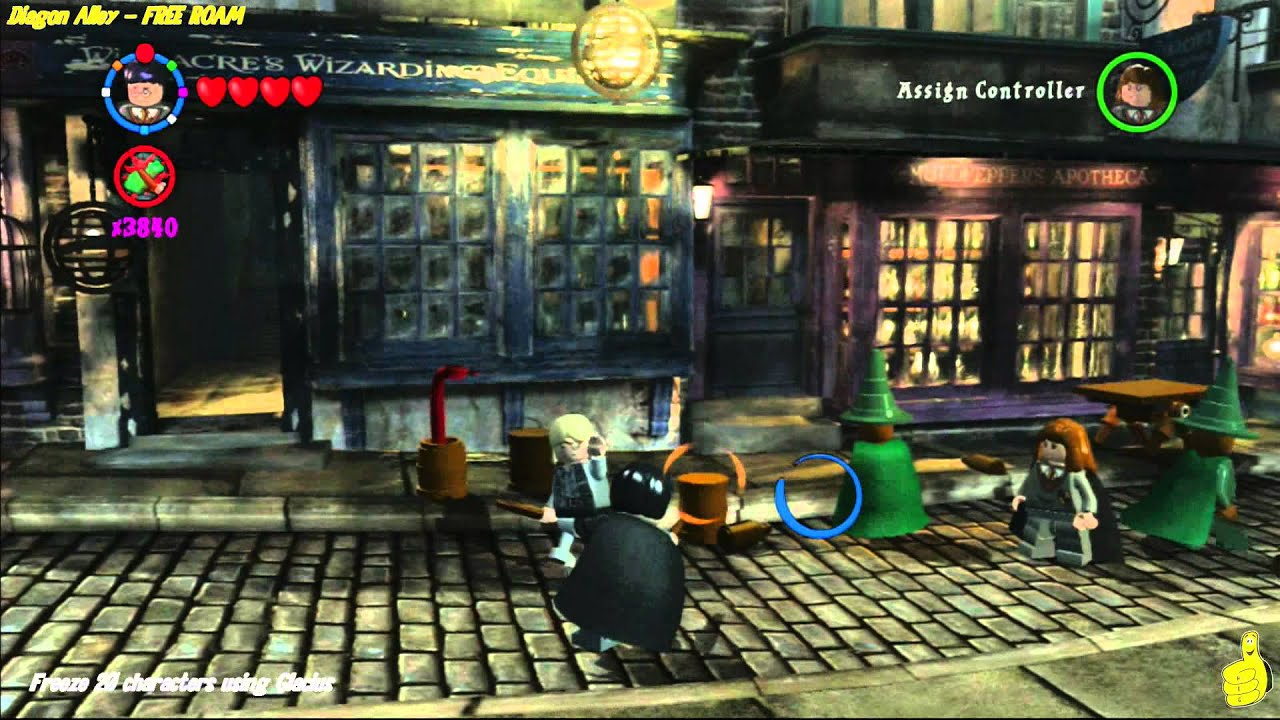 Lego Harry Potter Years 1 4 Chilled Out Trophy Achievement Htg Youtube