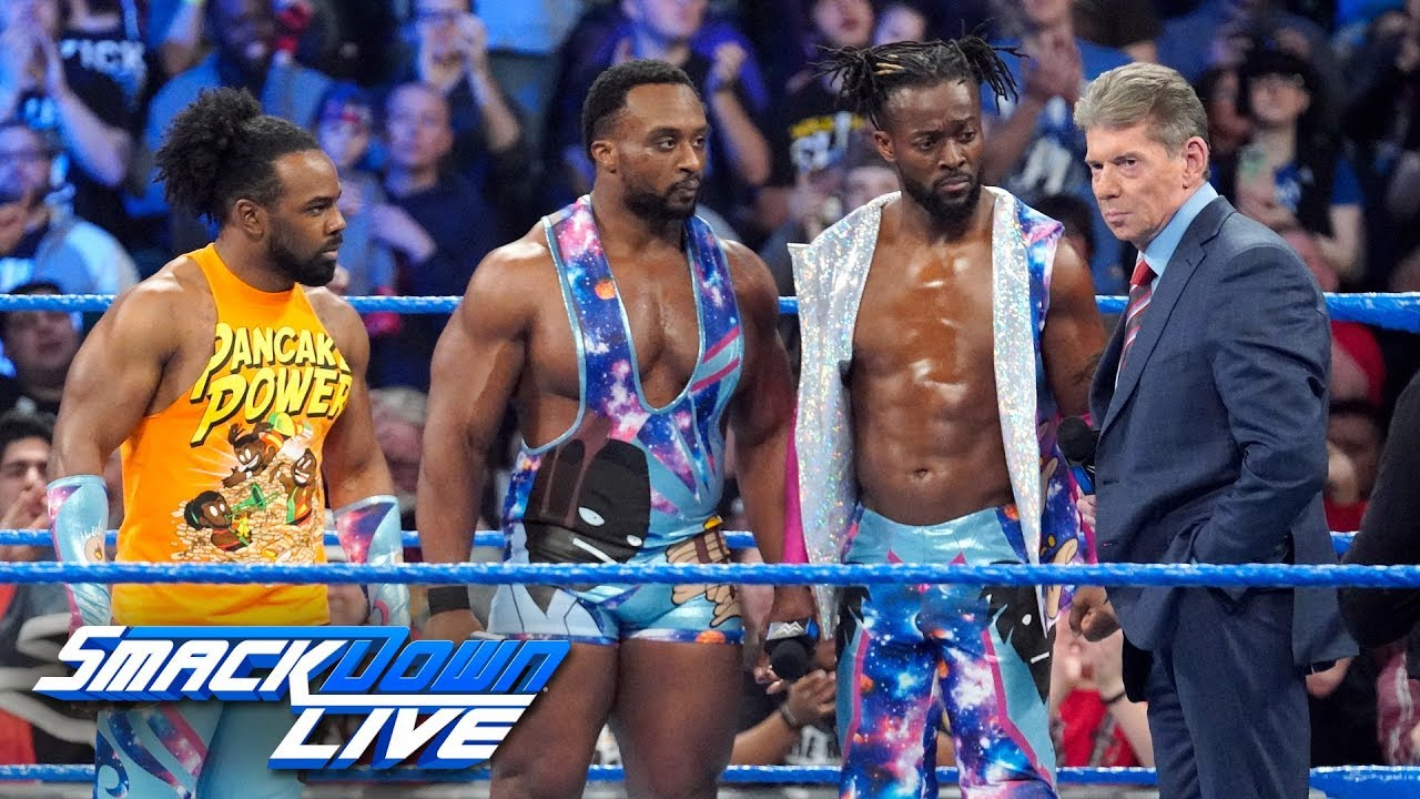 Download Mr. McMahon gives Kofi Kingston an opportunity to prove him wrong: SmackDown LIVE, March 12, 2019